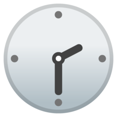 Clock Face Two-thirty google emoji