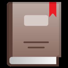 Closed Book google emoji