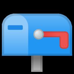 Closed Mailbox With Lowered Flag google emoji