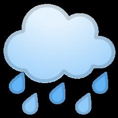 Cloud With Rain google emoji