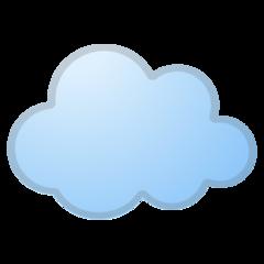 Cloud google emoji