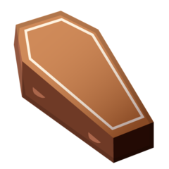 Coffin google emoji