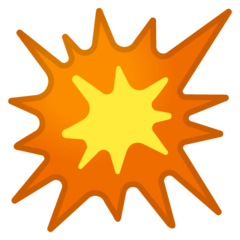 Collision Symbol google emoji