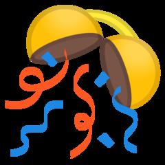 Confetti Ball google emoji