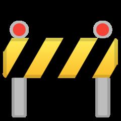 Construction Sign google emoji