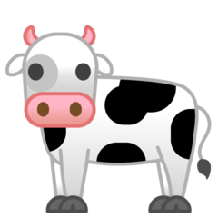 Cow google emoji