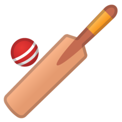Cricket Bat And Ball google emoji