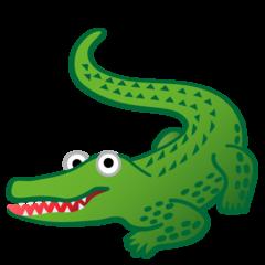 Crocodile google emoji