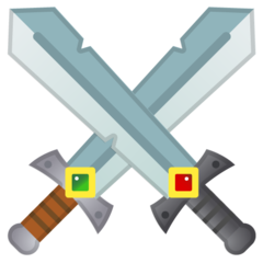 Crossed Swords google emoji