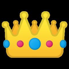 Crown google emoji