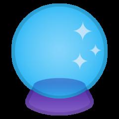 Crystal Ball google emoji