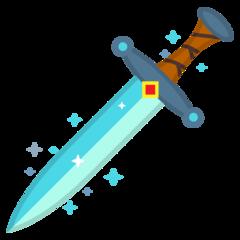 Dagger Knife google emoji