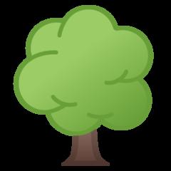 Deciduous Tree google emoji