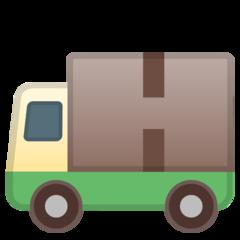 Delivery Truck google emoji