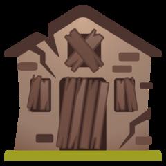 Derelict House Building google emoji