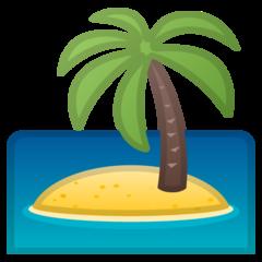 Desert Island google emoji
