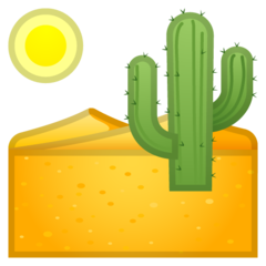 Desert google emoji
