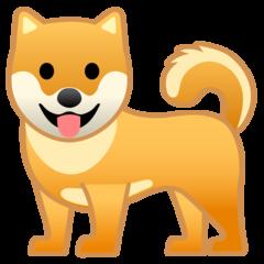 Dog google emoji