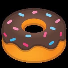 Doughnut google emoji