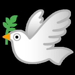 Dove Of Peace google emoji