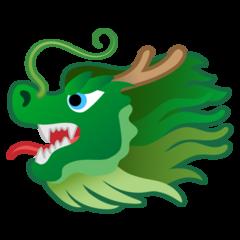 Dragon Face google emoji