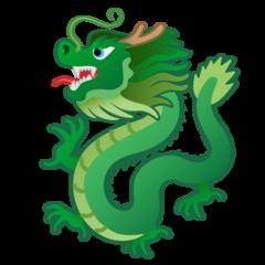 Dragon google emoji