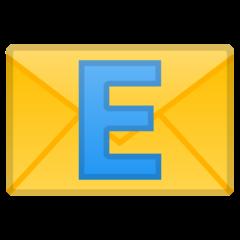 E-mail Symbol google emoji