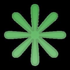 Eight Spoked Asterisk google emoji