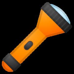 Electric Torch google emoji