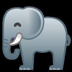 Elephant google emoji