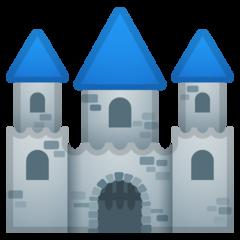 European Castle google emoji