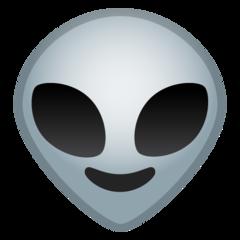 Extraterrestrial Alien google emoji