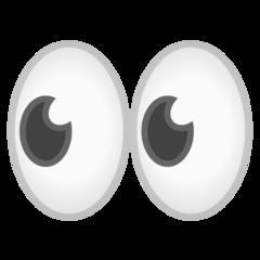 Eyes google emoji