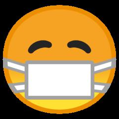 Face With Medical Mask google emoji