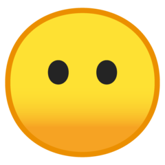 Face Without Mouth google emoji