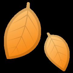 Fallen Leaf google emoji