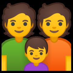 Family google emoji