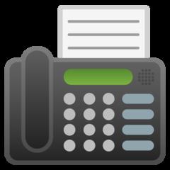 Fax Machine google emoji
