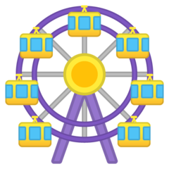 Ferris Wheel google emoji