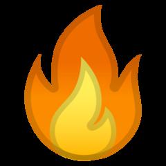 Fire google emoji