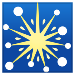 Firework Sparkler google emoji