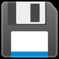Floppy Disk google emoji