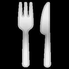 Fork And Knife google emoji