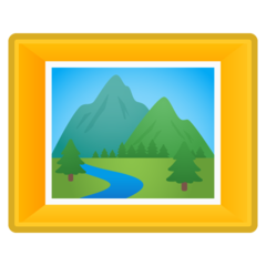 Frame With Picture google emoji