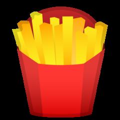 French Fries google emoji