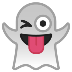 Ghost google emoji