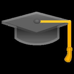 Graduation Cap google emoji
