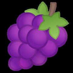 Grapes google emoji