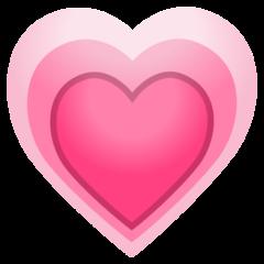 Growing Heart google emoji