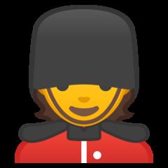 Guardsman google emoji